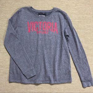 Victoria's Secret Sport Sweatshirt Spell Out S NEW